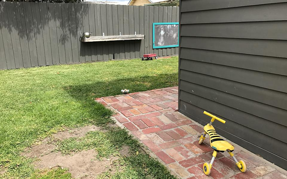 A Woolworths customer and her family were left without running water for several days after a delivery driver's accident in their yard (not the one pictured). Source: Getty Images, file image