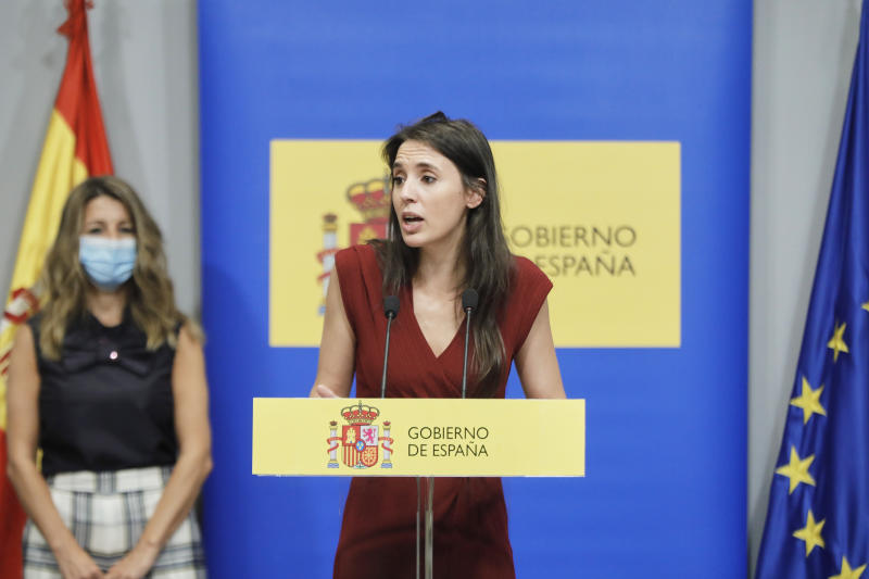 Irene Montero, ministra de Igualdad. (Foto: Jesús Hellín / Europa Press / Getty Images).