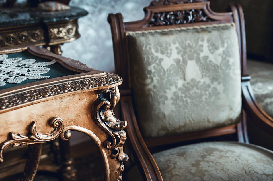 Vintage furniture. (PHOTO: Getty Images)