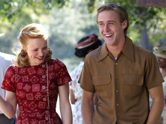 the notebook date