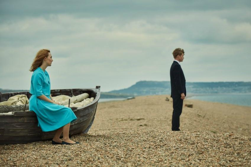 Chesil Beach is the star of the adaptation of Ian McEwan's novel of the same name