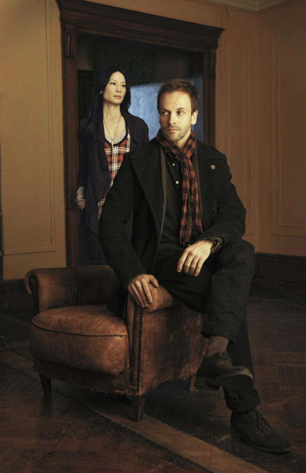 """<b>""""Elementary"""" (Fall Drama)</b><br><br>""""Elementary"""" stars Jonny Lee Miller as detective Sherlock Holmes and Lucy Liu as Dr. Joan Watson in a modern-day drama about a crime solving duo that cracks the NYPD's most impossible cases."""