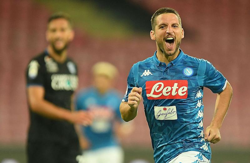 Dries Mertens Hat-trick Fires 'Deadly' Napoli Back to Second in Serie A