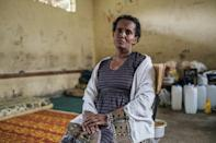 Muchayu Degin, a farmer and mother of seven, was forced to hide in her home for a week as fighting raged