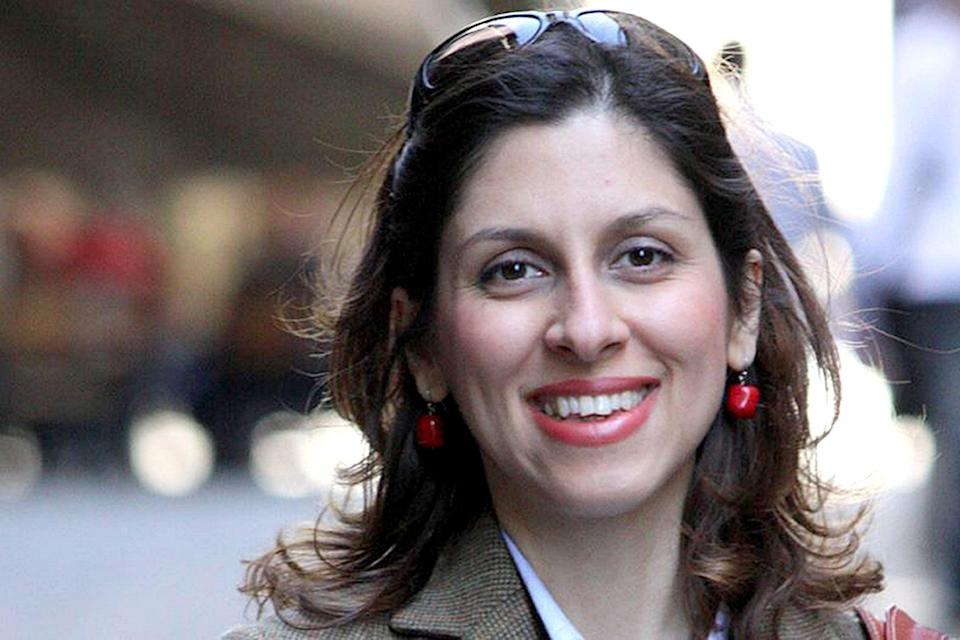 Nazanin Zaghari-Ratcliffe who spent her 40th birthday in prison in Iran on Boxing Day (PA)