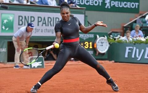 Serena Williams at the French Open - Credit: Getty Images