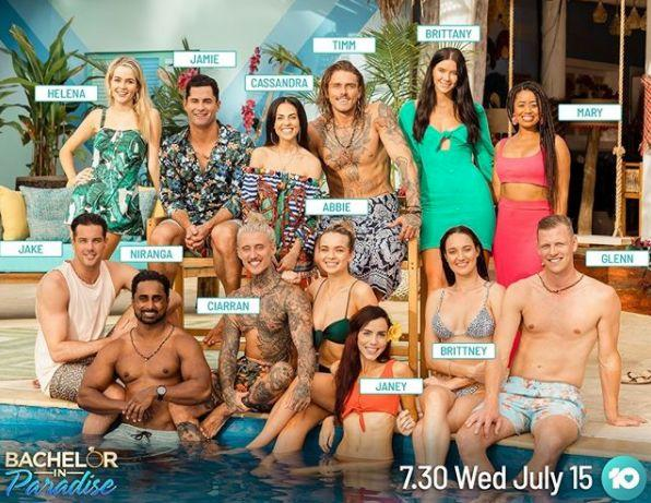 'Bachelor In Paradise' 2020 cast (Photo: Channel 10)