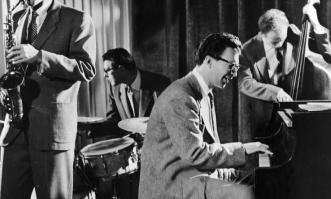 Jazz royalty: The Dave Brubeck Quartet perform in 1960.