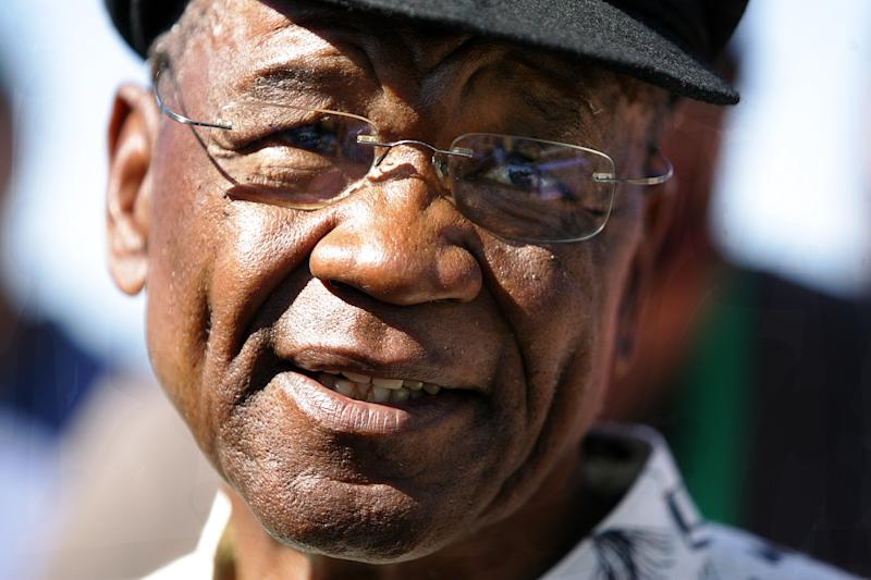 This photo taken on February 17, 2007, in Maseru, shows Lesotho's Prime Minister Tom Thabane (AFP Photo/Alexander Joe)