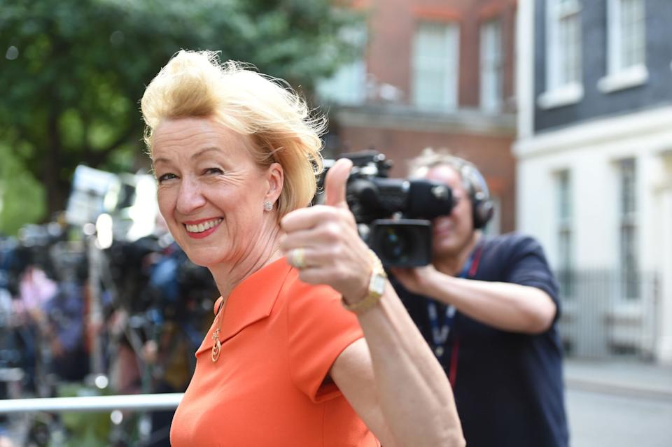 Andrea Leadsom will be hoping for the thumbs up from Conservative Party members (Picture: PA)