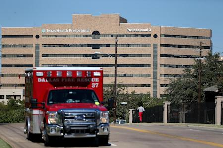 Texas Health Presbyterian Hospital in Dallas has come under scrutiny for its handling of the Ebola case. (Joe Raedle/AFP Photo)