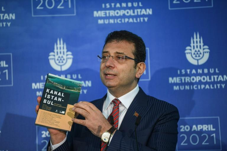 Istanbul mayor Ekrem Imamoglu is one of the most fervent critics of the new waterway project