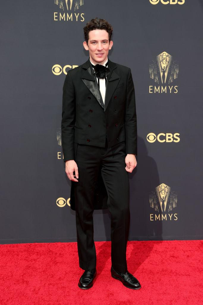 Josh O'Connor attends the 73rd Primetime Emmy Awards on Sept. 19 at L.A. LIVE in Los Angeles. (Photo: Rich Fury/Getty Images)