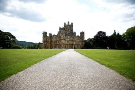 FILE PHOTO: Highclere Castle, the filming location for Downton Abbey, is seen in Hampshire