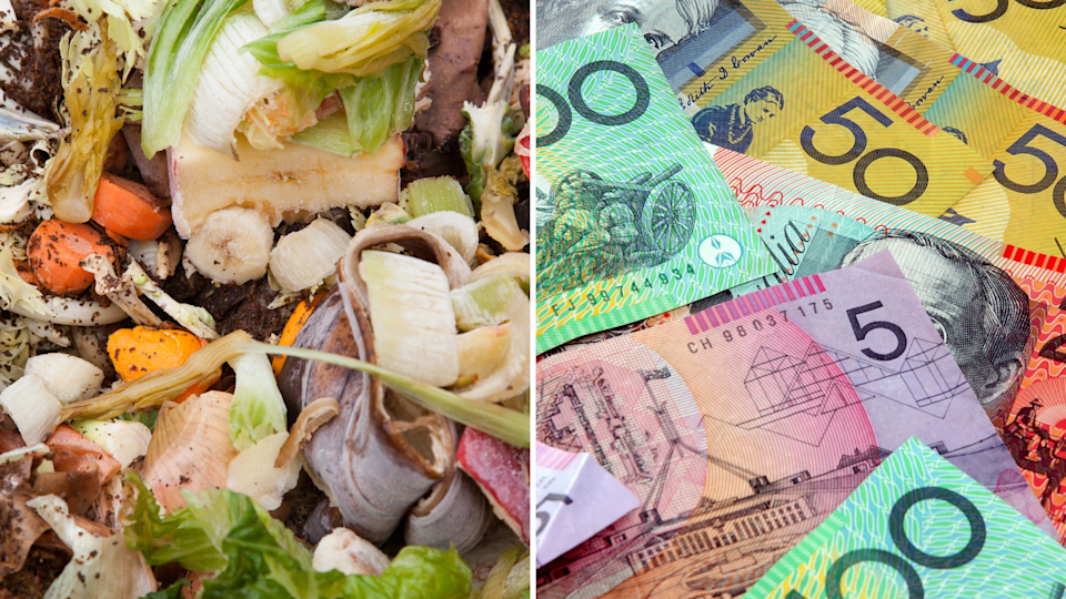 We waste $8.9 billion in food as a country. Images: Getty