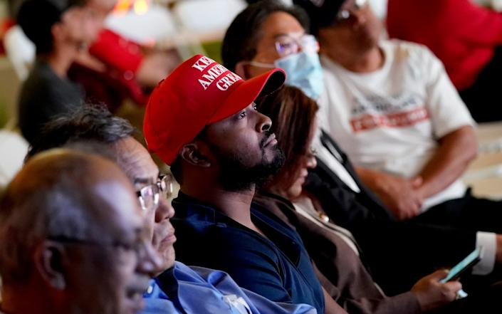 It looks set to be a disappointing night for Arizona's Republicans - AP
