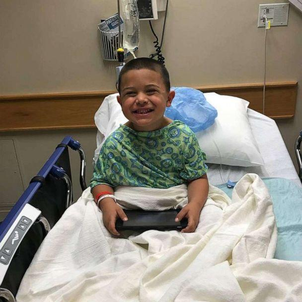 PHOTO: Gabe Rodriguez endured 22 spinal taps and 14 blood transfusions during his 3 and a half year battle with leukemia. (Katie Rodriguez)
