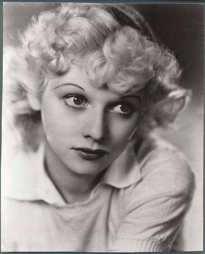An early portrait of a blonde Ball.