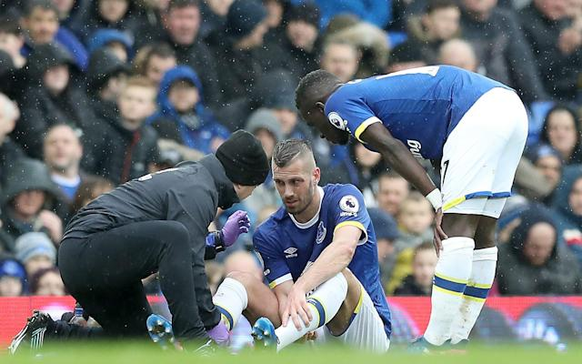 <span>Morgan Schneiderlin's injury is a blow to Everton</span> <span>Credit: PA </span>