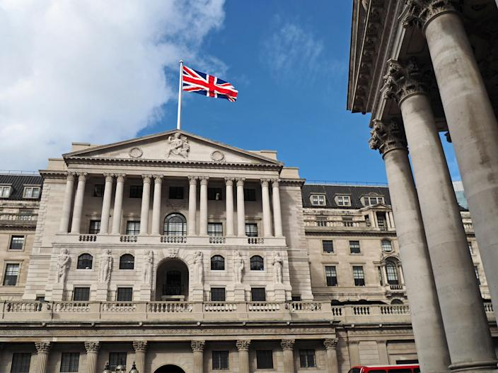 Last week, BOE launched official talks with the Prudential Regulation Authority over the operational practicalities negative interest rates, hitting the pound. Photo: Getty