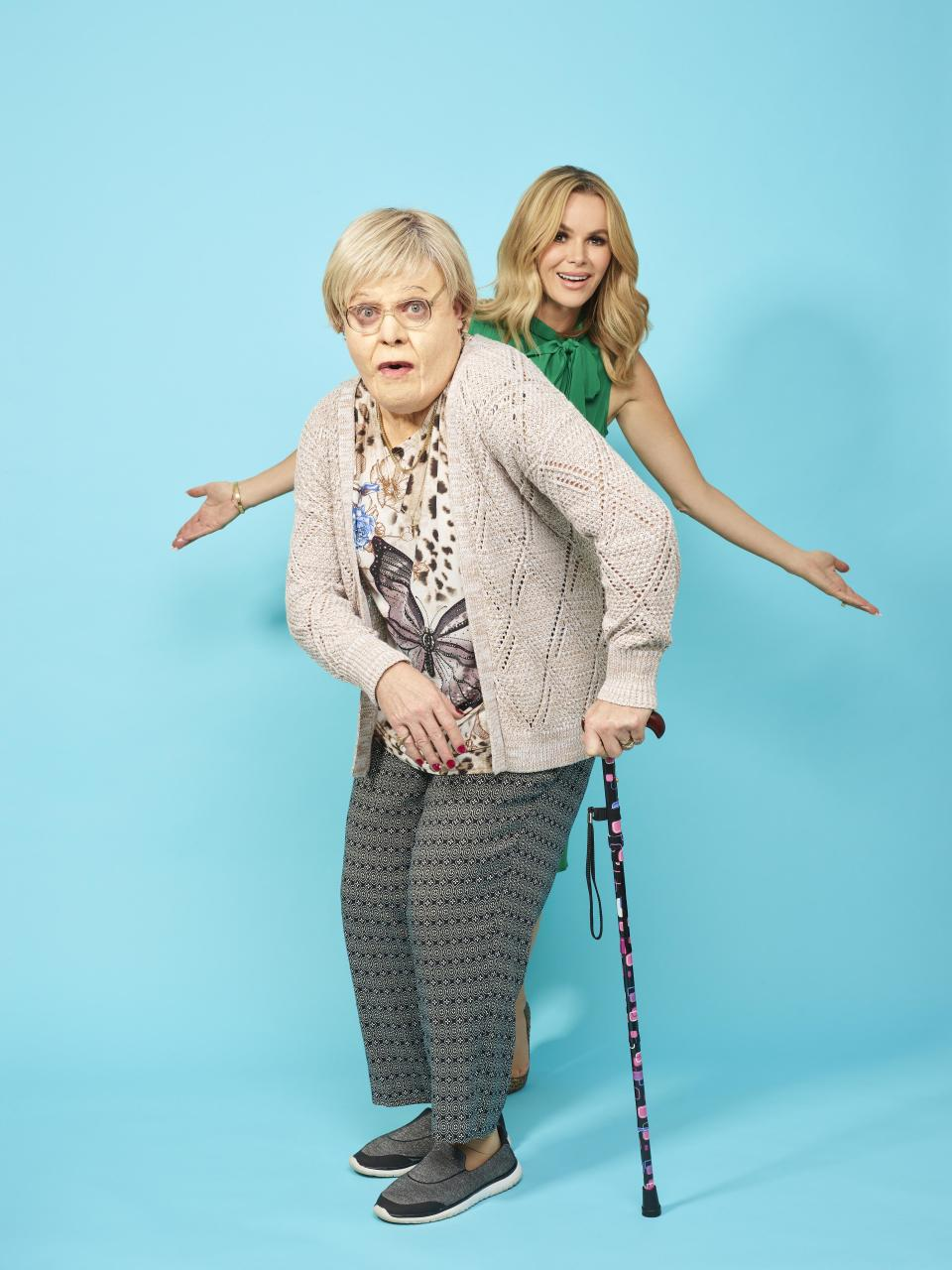 Amanda Holden and Gran. (Channel 4)