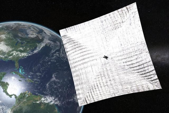 nasa spacex water mission lightsail