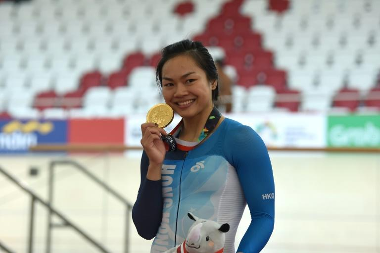 Hong Kong's Sarah Lee Wai-sze won the women's keirin and sprint events to finish off a tremendous week at the velodrome in Jakarta