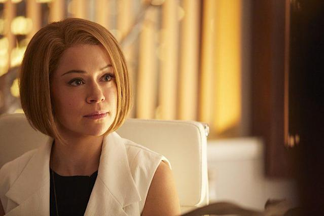 Maslany as Rachel Duncan in BBC America's 'Orphan Black' (Photo Credit: BBC America)