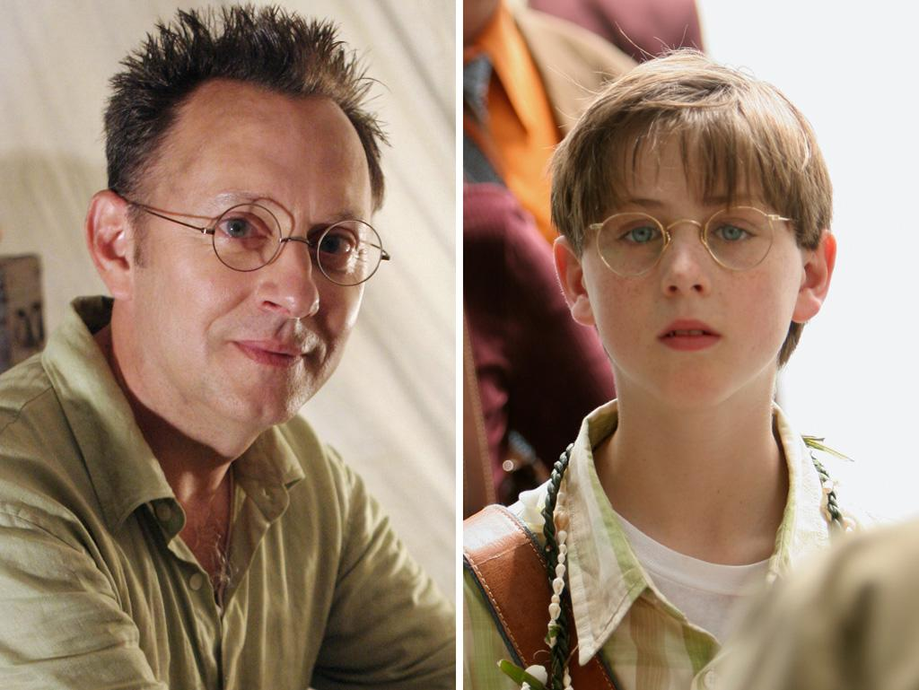 "The mother of all flashbacking shows, ""Lost"" featured younger versions of many characters (Jack, Kate, Sawyer, Hurley, and on and on). But the best resemblance was between Michael Emerson, who played Ben Linus, and Sterling Beaumon, who played Young Ben. Those big, wide blue eyes and that nose — are we sure they aren't second cousins or something?"