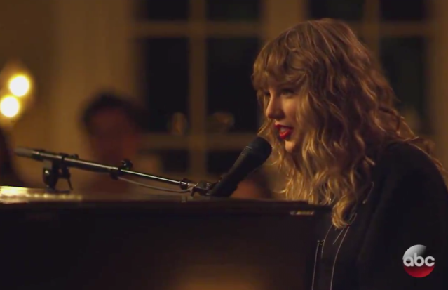 Watch Taylor Swift Debut New Year S Day On Abc During Scandal