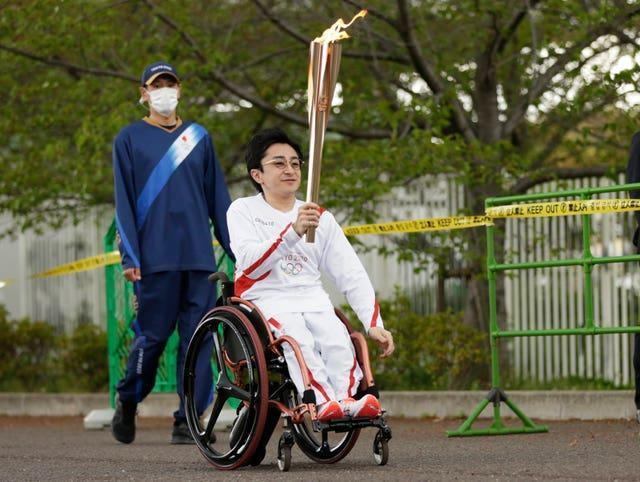 The Olympic Torch relay is currently taking place in Japan