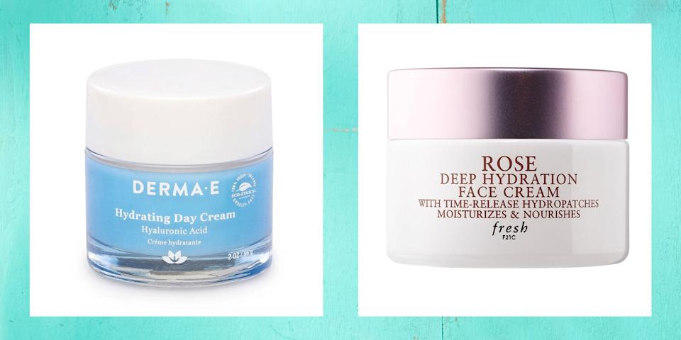 """<p>Dry skin: It happens. And, for some people, it's the reality all year-round, not just when the temperature spike and dip like crazy in the coolest and hottest months of the year. But, just because you have dry skin doesn't mean it has to stay that way. After all, the best moisturizers for dry skin are designed specifically for such complexion concerns. </p><p>But, before you go reaching for the nearest lotion or cream, understand that, like all <a href=""""https://www.thepioneerwoman.com/beauty/skin-makeup-nails/a34031761/winter-skincare-tips/"""" rel=""""nofollow noopener"""" target=""""_blank"""" data-ylk=""""slk:skincare products"""" class=""""link rapid-noclick-resp"""">skincare products</a>, not all moisturizers are created equally. While they're all designed to hydrate skin, they're not all designed to keep dry skin moisturized. See the difference? It's because of this that it's important to know which ingredients are worth implementing in your routine. </p><p>For starters, anything chock-full of ceramides is a worthy candidate. That's because they strengthening lipids build up the moisture barrier to prevent moisture loss in the first place. Then there's hyaluronic acid, an ingredient known to hold 1,000 times its weight in water. And don't forget about alpha hydroxy acids! After all, while these exfoliating acids aren't designed to deliver moisture firsthand, they are designed to slough away any dirt, debris, or dead skin build-up that could be blocking your skin from attaining and retaining the moisture it needs.</p><p>Now that you're up to speed, you could very well head into your nearest drugstore or Sephora and flip products over one by one in search of the holy grail ingredients. Or, you could just keep scrolling for over a dozen of the best moisturizers for dry skin. You choose. (Check out the <a href=""""https://www.thepioneerwoman.com/beauty/skin-makeup-nails/g34551291/best-moisturizer-with-spf/"""" rel=""""nofollow noopener"""" target=""""_blank"""" data-ylk=""""slk:best moisturizers with SPF"""" cl"""