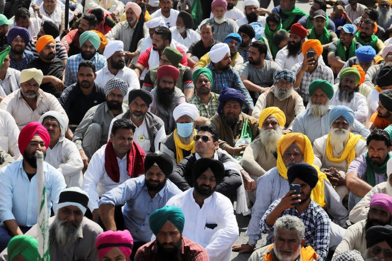100th day of the protest against the farm laws in Haryana