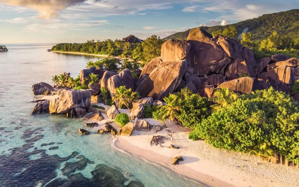 The Seychelles - Getty