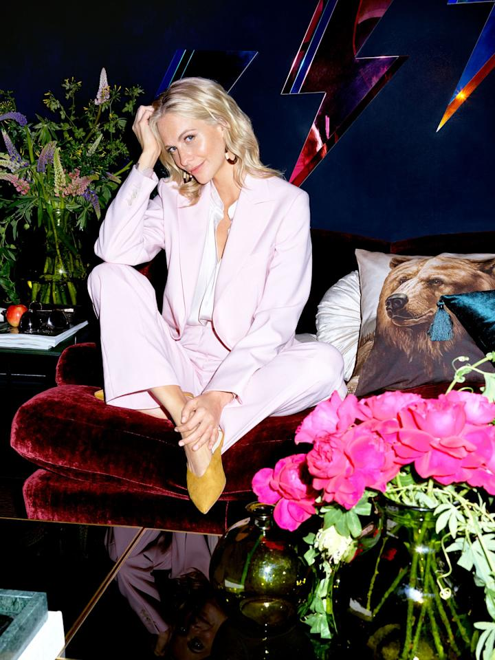 <p><strong>Actress and model Poppy Delevingne has opened the doors to the eclectic and colourful West London home she shares with her husband James Cook. </strong></p><p>Drawing inspiration from her travels, Poppy's chic and light-filled house is luxurious and fun. Beautifully decorated, attention to detail has gone into every space, enabling Poppy to create an abode that is truly reflective of her personal style.</p><p>In Poppy's home, which she and James completely renovated after buying in 2015, you'll find vintage furniture, plush velvet curtains, quirky-print wallpaper and bold pops of colour. 'Don't be afraid of clashing colours and prints, it only brings vividness to your space,' says Poppy.  In fact, when it comes to creating her dream home, anything goes: 'I'm not that practical when it comes to decorating, for example, my bathroom wallpaper is made of silk…' Poppy reveals. <br></p>