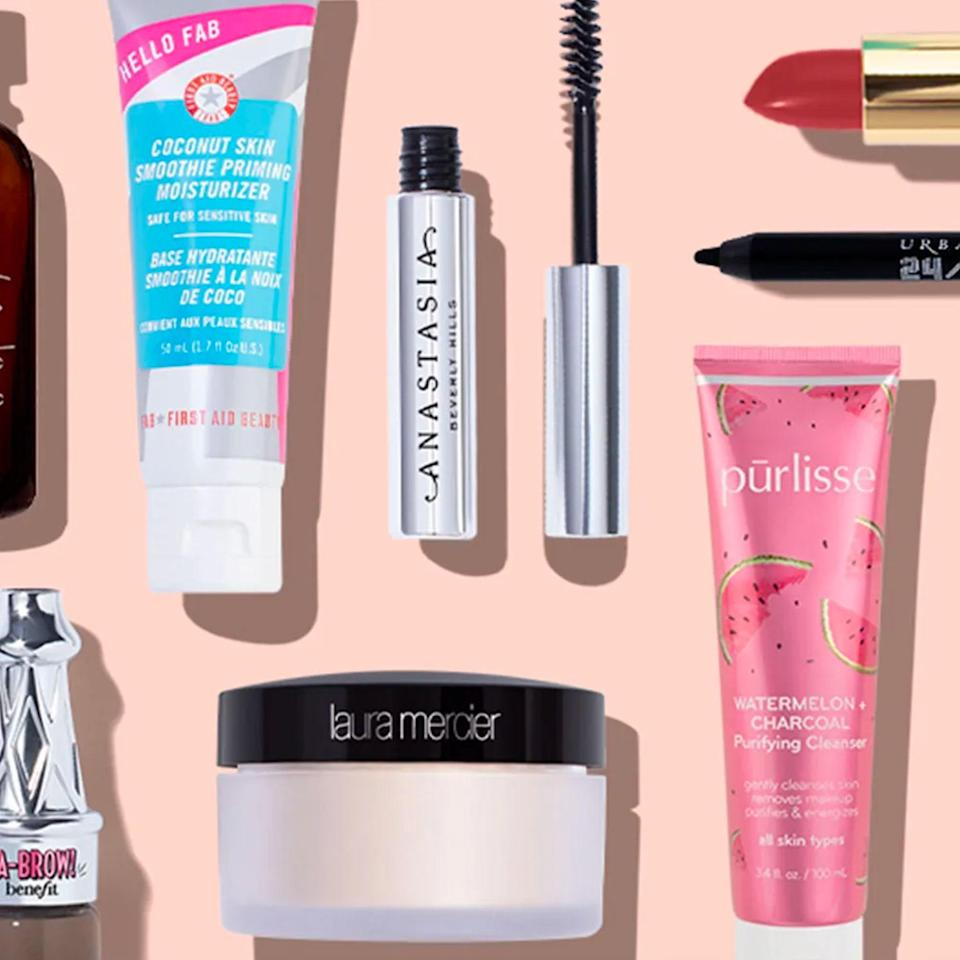 """Anyone who gets bored easily can stay in discovery mode with an Allure Beauty Box subscription, which will deliver editor-approved makeup and skincare from top-notch brands. We predict TikTok unboxings in their near future. $23, Allure. <a href=""""https://beautybox.allure.com/?source=INF_ALB_cm_paid_affiliate_GLAMOUR_GRADGIFTS&utm_source=internalaffiliate&utm_medium=affiliate&utm_campaign=paid-cm-internalaffiliate-GLAMOUR_GRADGIFTS&utm_social-type=paid&utm_brand=abb"""" rel=""""nofollow noopener"""" target=""""_blank"""" data-ylk=""""slk:Get it now!"""" class=""""link rapid-noclick-resp"""">Get it now!</a>"""