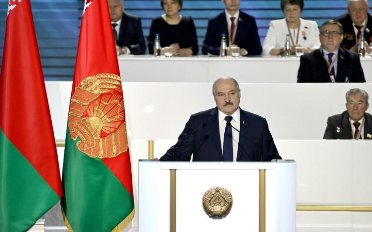 Lukashenko claimed victory for a sixth term in August elections that were widely criticised internationally