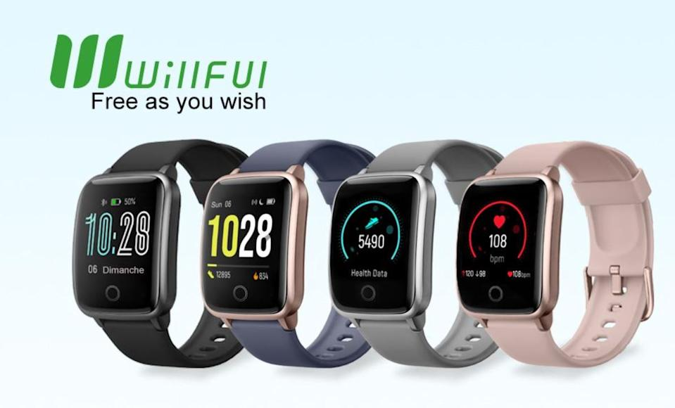 Willful Smartwatch Donna Uomo Orologio Fitness per Android iOS