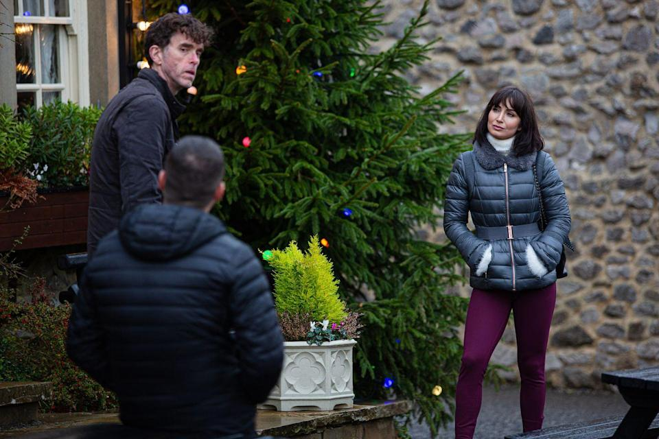 <p>The wedding reception will be held in The Woolpack's beer garden as the marquee company has cancelled.</p>