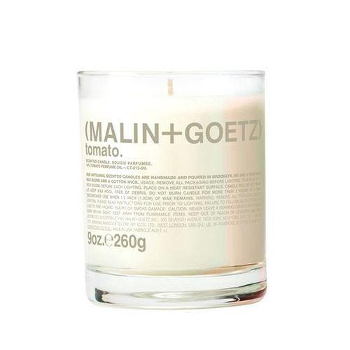 """<p>Malin + Goetz Tomato</p><p>£42</p><p>Malinandgoetz.co.uk</p><p><a class=""""link rapid-noclick-resp"""" href=""""https://www.malinandgoetz.co.uk/tomato-candle-9oz-e260g"""" rel=""""nofollow noopener"""" target=""""_blank"""" data-ylk=""""slk:SHOP NOW"""">SHOP NOW</a></p><p>If anyone can make a tomato scented candle work, it's Malin + Goetz. Perfect for anyone who finds sweet notes too cloying, this limited-edition offering conjures vine-ripened fruit laced with basil and pepped up with mint. In short, it's delicious. </p>"""