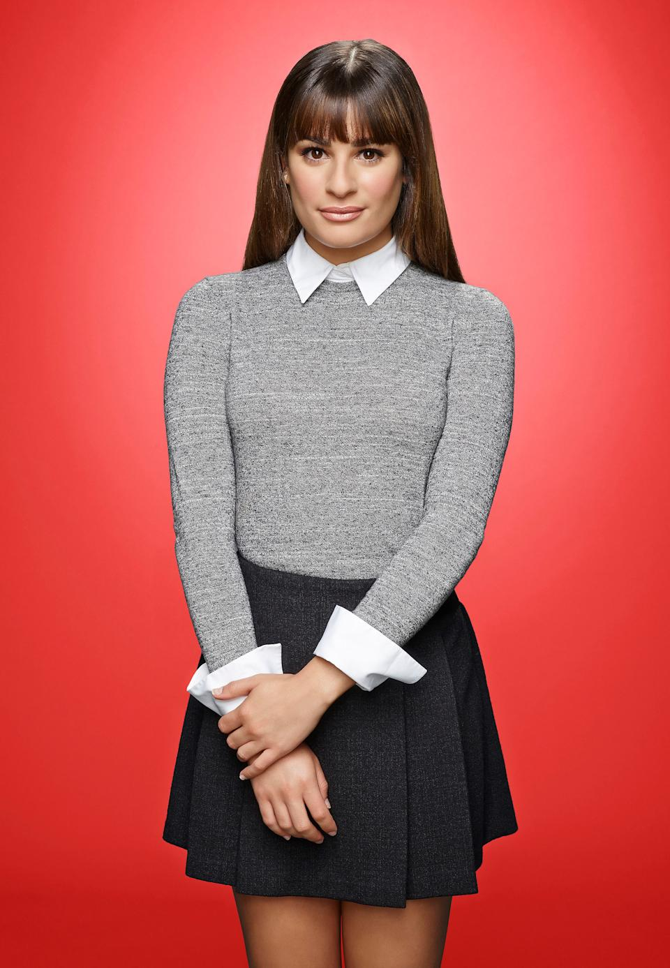 Lea Michele as Rachel on the sixth and final season of GLEE premiering with a special two-hour event  Friday, Jan. 9
