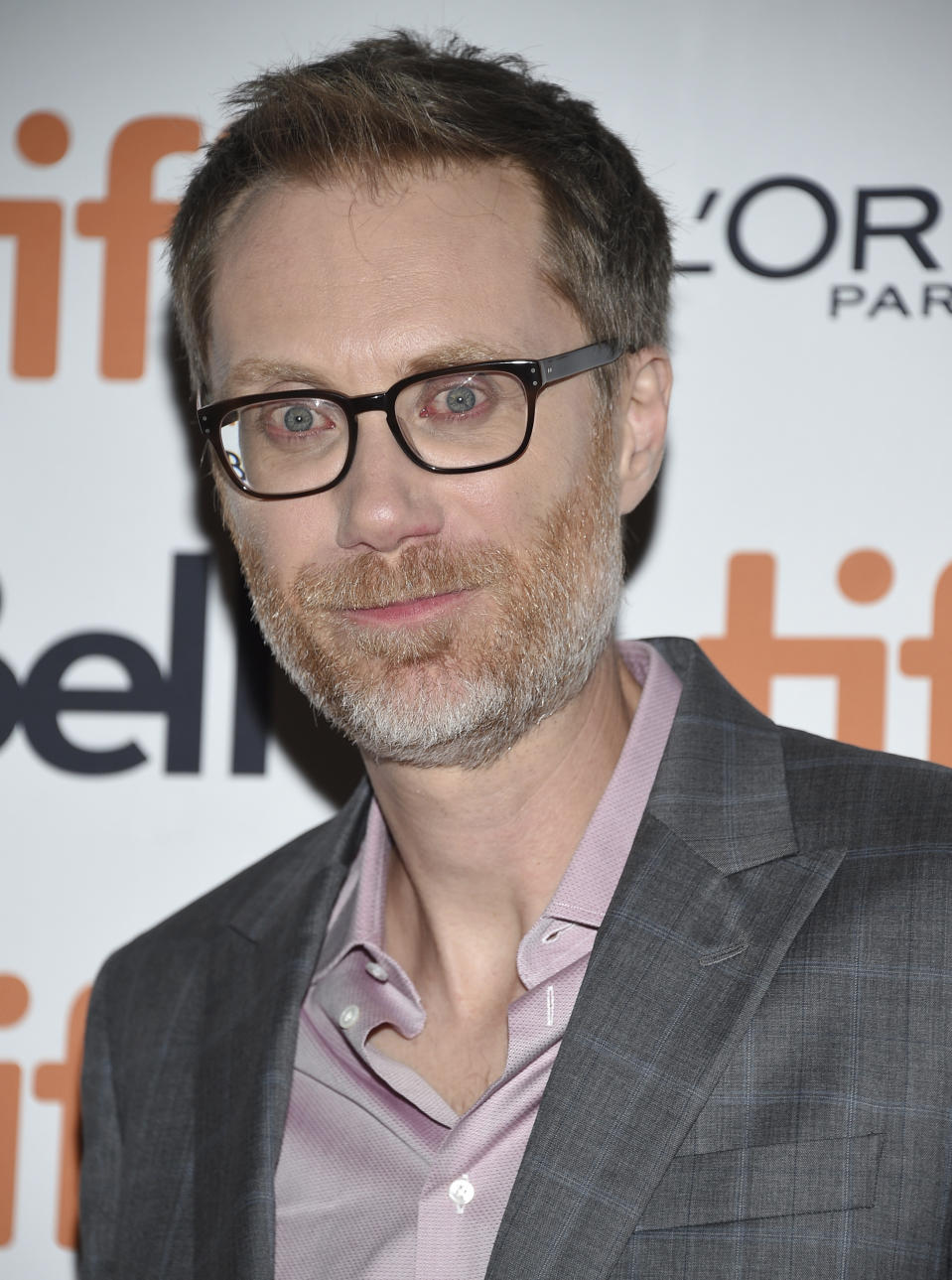 """Actor Stephen Merchant attends the premiere for """"Jojo Rabbit"""" on day four of the Toronto International Film Festival at Roy Thomson Hall on Sunday, Sept. 8, 2019, in Toronto. (Photo by Evan Agostini/Invision/AP)"""