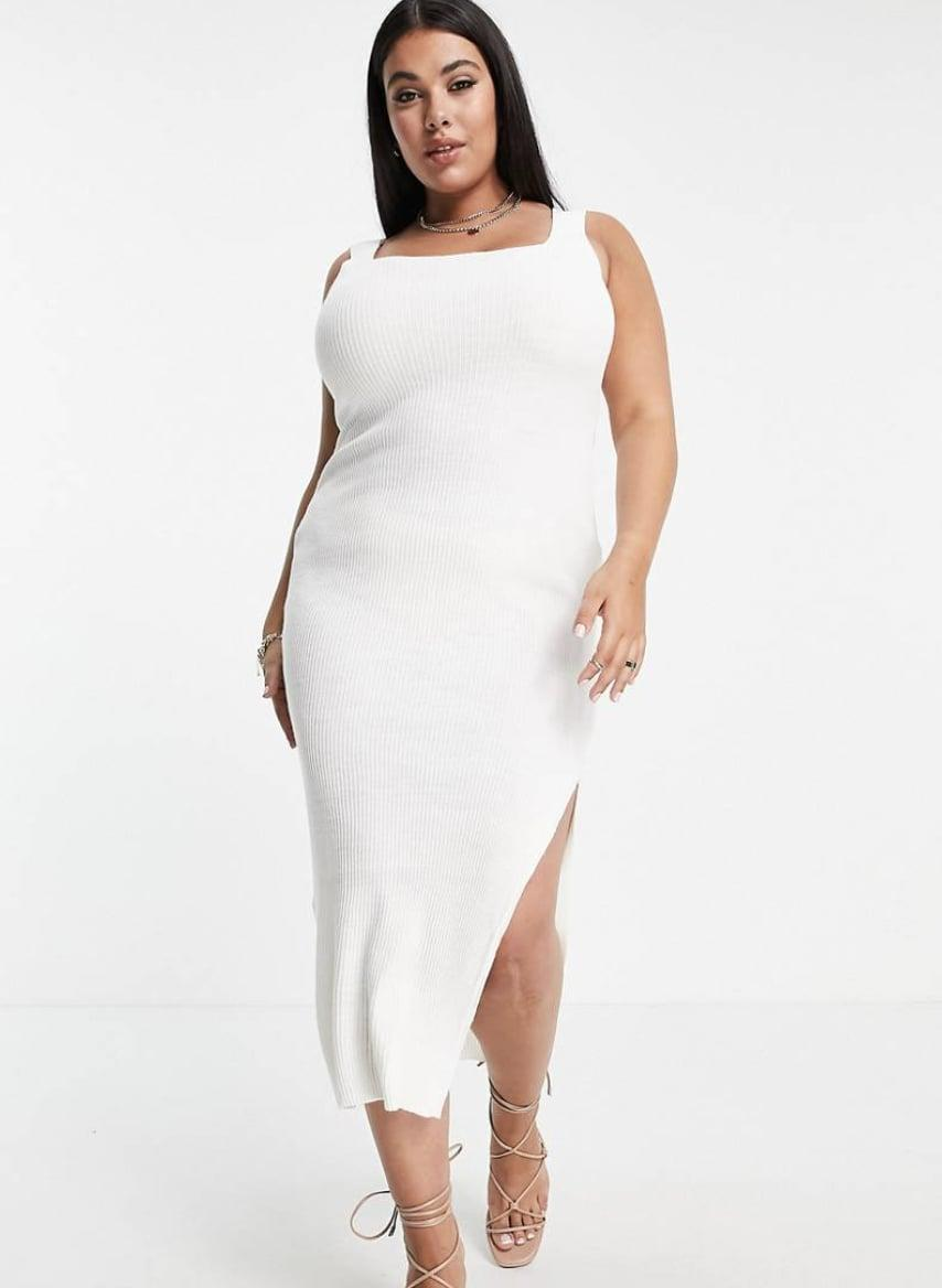 <p>This <span>In the Style x Naomi Genes Midi Dress</span> ($48) can be styled for a daytime event with some sneakers and a denim jacket (if it gets chilly) or for a night out with some kitten heels and a cute clutch.</p>