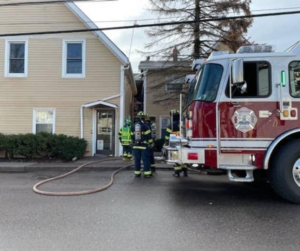 People were forced from their homes Monday following an early morning fire in Charlottetown.