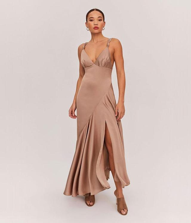 "<p>Zephyra Dress, $279, <a href=""https://www.fameandpartners.com/dresses/dress-zephyra-dress-1280"" rel=""nofollow noopener"" target=""_blank"" data-ylk=""slk:fameandpartners.com"" class=""link rapid-noclick-resp"">fameandpartners.com</a> </p>"
