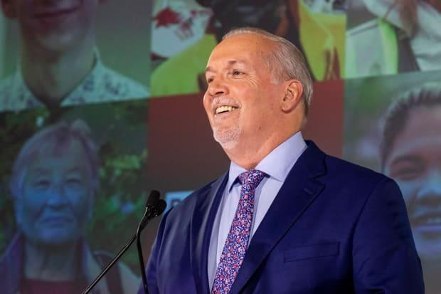 B.C. NDP will form decisive majority government, CBC News projects