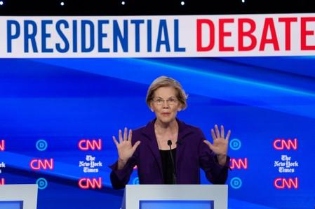 When it comes to U.S. national security, what's candidate Warren's plan?