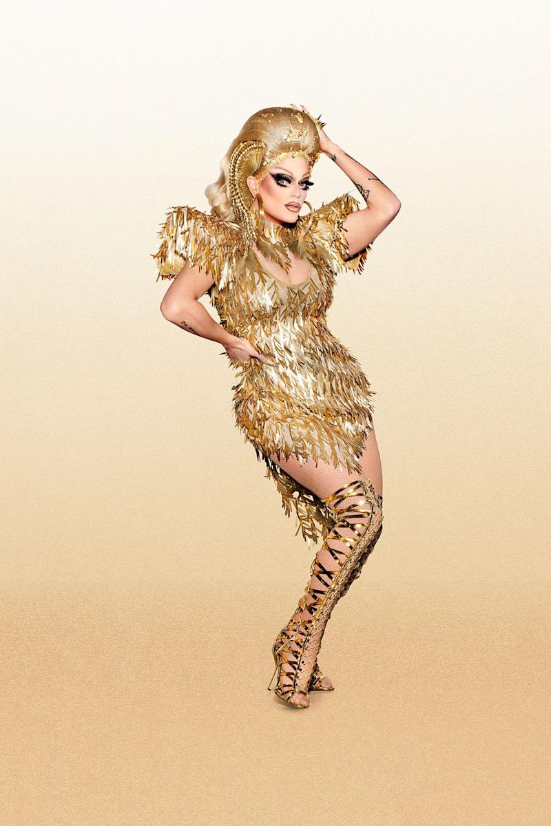 "Location: Los Angeles, California<br /><br />Twitter: @morganmcmichael, Instagram: @morganmcmichaels<br /><br />Morgan McMichaellllllls, bitch! Since this Queen of Los Angeles drag stomped into the workroom back in season two, Morgan's been ready to once again return and compete for the crown. Morgan's fierce attitude and lip sync abilities are only some of the many tools she has to help propel herself into the Drag Race Hall of Fame - right next to her drag mother: ""All Stars"" season one winner, Chad Michaels. In this competition, the Scottish Scandal is out for blood."