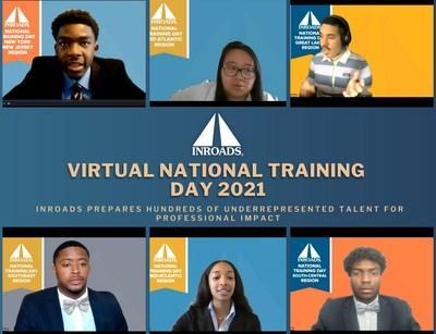 INROADS Interns attend impactful sessions where they are given information and advice that they can use as they begin their professional careers.