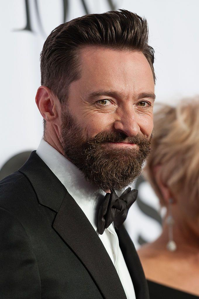 <p>It's maybe not the facial hair you're used to on Jackman, but we're all used to facial hair in some form. </p>